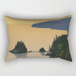 Fundy National Park Rectangular Pillow