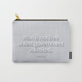 President Ronald Reagan Quote Carry-All Pouch
