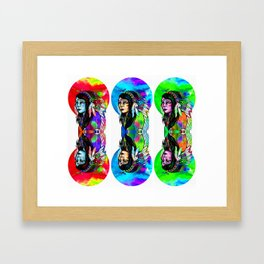 3inarow Framed Art Print