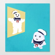 Adi-puft Canvas Print