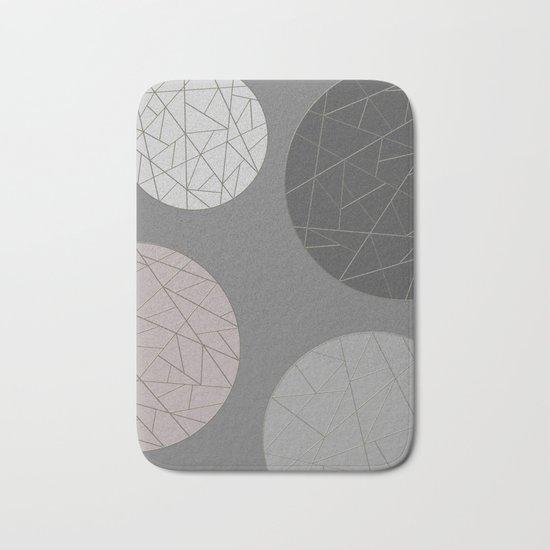 BROKEN (abstract geometric) Bath Mat