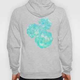 Rosette Succulents – Turquoise Palette Hoody