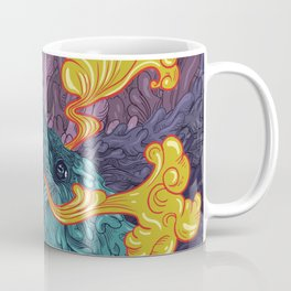 Water Crow Coffee Mug