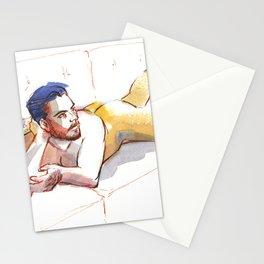 JODRAN, Nude Male by Frank-Joseph Stationery Cards