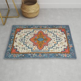 N125 - HQ Bohemian Traditional Moroccan Style Decor Artwork. Rug