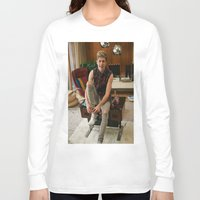 niall horan Long Sleeve T-shirts featuring Niall Horan by behindthenoise