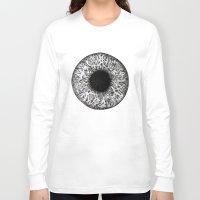 iris Long Sleeve T-shirts featuring Iris by ECMazur
