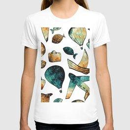 Galaxy Balloon Pattern 03 T-shirt