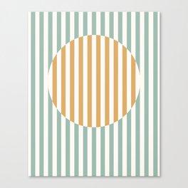 Bauhaus Sun Canvas Print