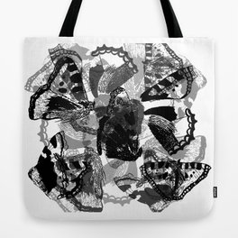 Small Tortoiseshell Tote Bag