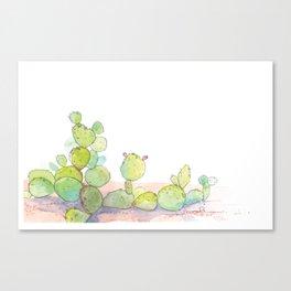 Prickly Pear. Canvas Print