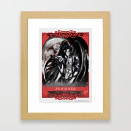 Wings of Faith : Punisher Framed Art Print