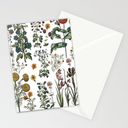 plants collection Stationery Cards