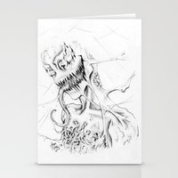 carnage Stationery Cards featuring Carnage by Angie Dilaj