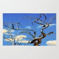 floyd Area & Throw Rugs featuring Tree Of Floyd by Thomas Eppolito
