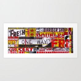 Combination Platter #23 Art Print