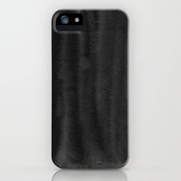 Black Ink Art No 5 iPhone Case