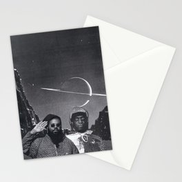 SPACE IS THE PLACE (Ras G meets Sun Ra) Stationery Cards