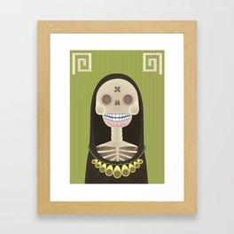 Vida Y Muerte Framed Art Print