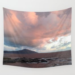 cotton candy skys Wall Tapestry