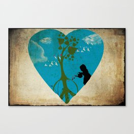 cultivating peace Canvas Print