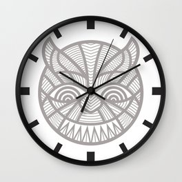 The Devil may care Wall Clock