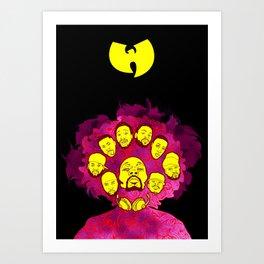 Wu-Tang Purple Haze Art Print