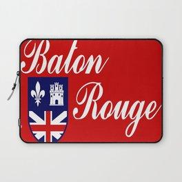 flag of baton rouge Laptop Sleeve