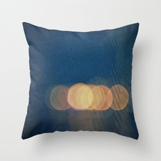 Mirage -- Abstract Light Photo Montage Throw Pillow