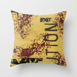 Understructure 3 Throw Pillow