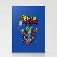avenger Stationery Cards featuring Avenger Time by MattHercock