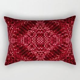 Strawberry Mind Warp  Rectangular Pillow