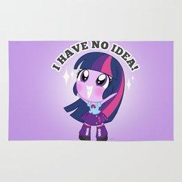 Cute Equestria Girls - Twilight Sparkle Rug