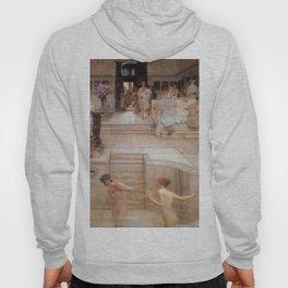 A Favourite Custom 1909 by Sir Lawrence Alma Tadema | Reproduction Hoody