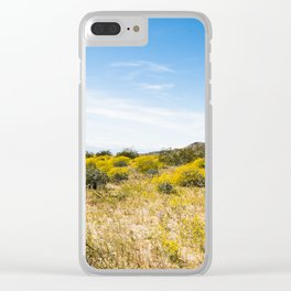 Super Bloom 7284 Paradise Joshua Tree Clear iPhone Case