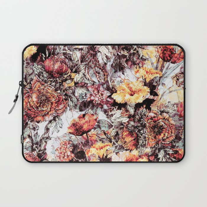 RPE FLORAL ABSTRACT Laptop Sleeve