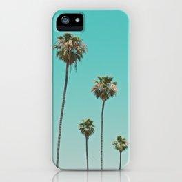 palm trees. las palmeras iPhone Case