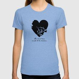 Oscar Wilde - The heart was made to be broken T-shirt