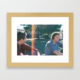 Crepe Coma Framed Art Print