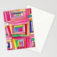 Crazy Quilt Stationery Cards