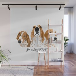 Redtick Love is Easy Wall Mural