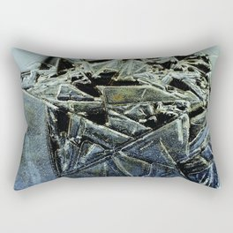 The Illusion of the Shattered Self Rectangular Pillow