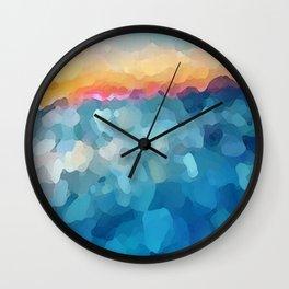 Some Faraway Beach Wall Clock