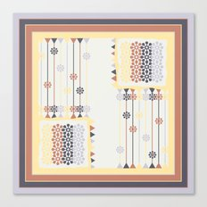 Abstract pillow pattern Canvas Print