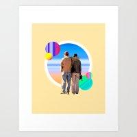melissa smith Art Prints featuring Melissa & Ernie by MCDiBiase