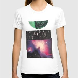 We Are the Universe Looking Back at Itself T-shirt