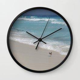 Carribean sea 8 Wall Clock