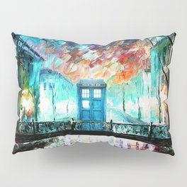 Tardis With Beautiful Starry Night Pillow Sham