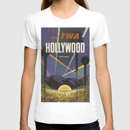 Vintage poster - Hollywood T-shirt