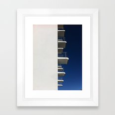 Bauhaus Dormitory Framed Art Print